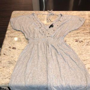 GREY EXPRESS DRESS